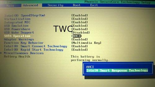 Intel Rapid Storage Technology RST Driver