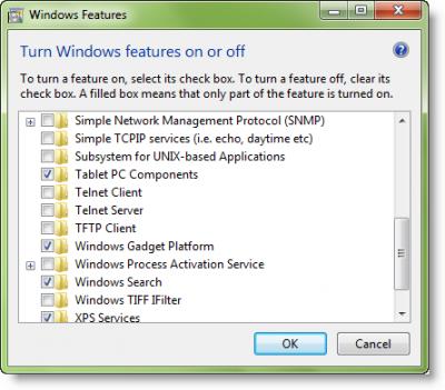 Как отключить боковую панель и гаджеты Windows 7